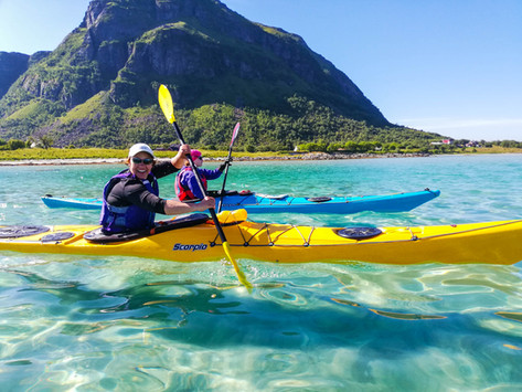 Lofoten - No Where Else We'd Rather Be Kayaking!