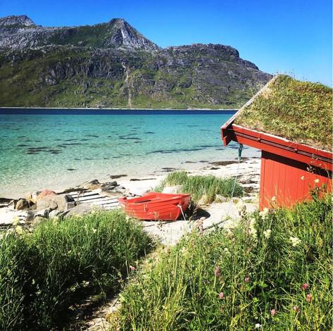 Lofoten - A Beautiful Lunch Spot
