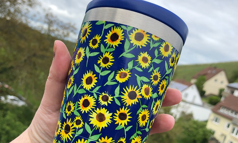 "To Go -Cup ""Sunflowers"""