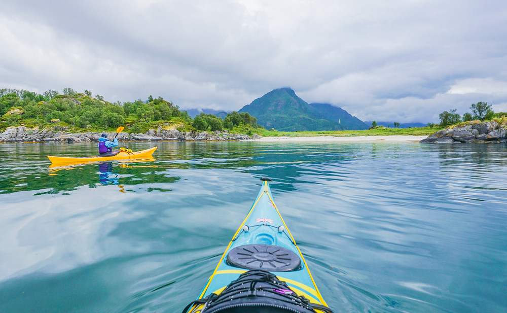 Vagoya is our favourite secret beach! Only accessible by kayak