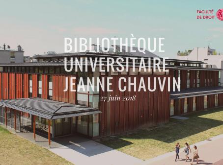 Une nouvelle bibliothèque universitaire !