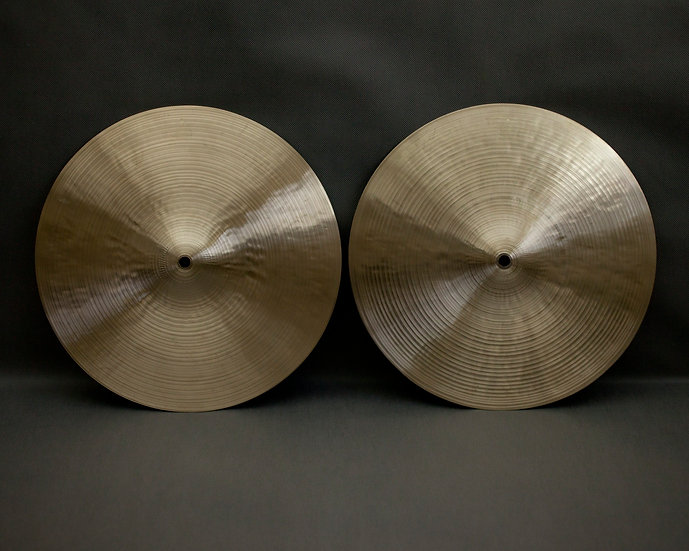 "14"" Hi-hats, 1176 / 958 grams, B20"