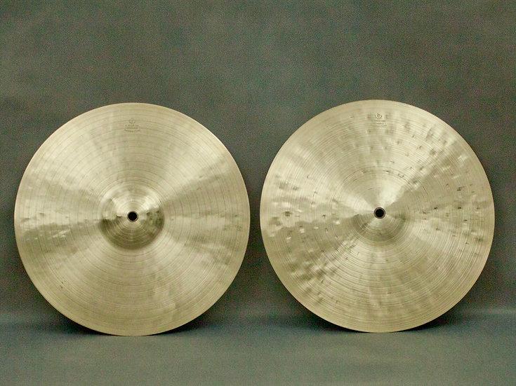 """14"""" Hi-hats, 716 / 1133 grams, B20"""