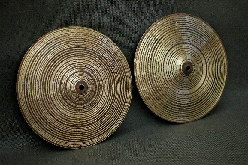 """12"""" Hi-hats, 750 / 590 grams, B20"""