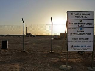Energia solare dal deserto omanita
