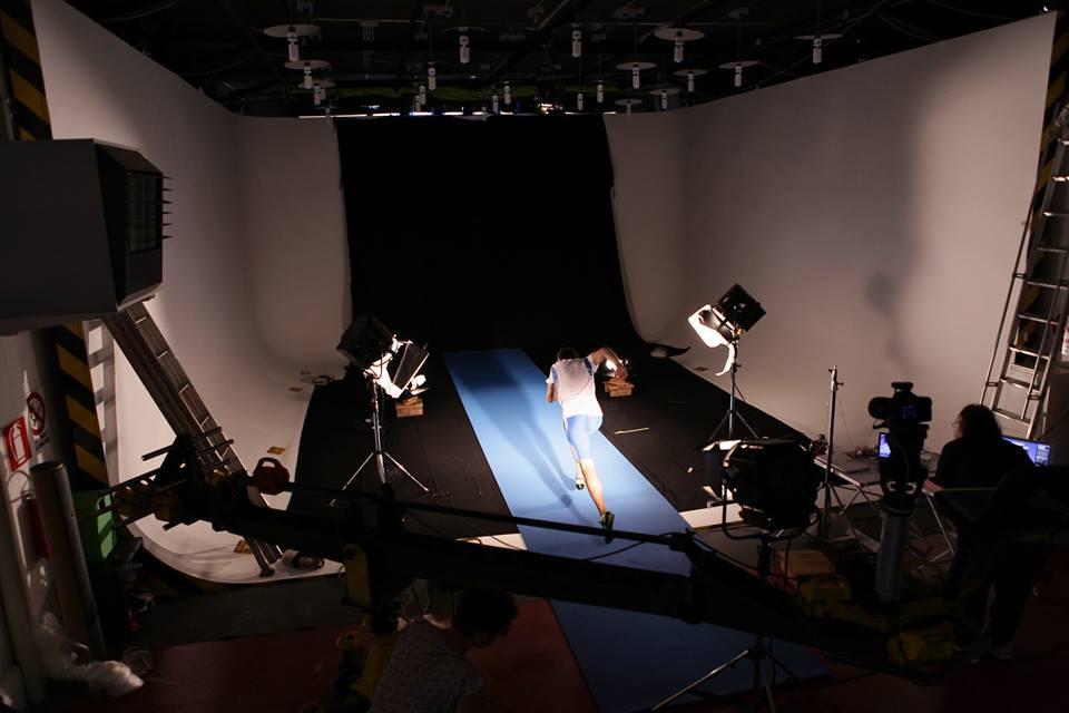Backstage dello shooting per Mondotrack WS