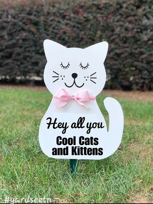 Keepsake Cat Sign
