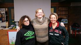 Le fondatrici di Aicad con Debby Kay