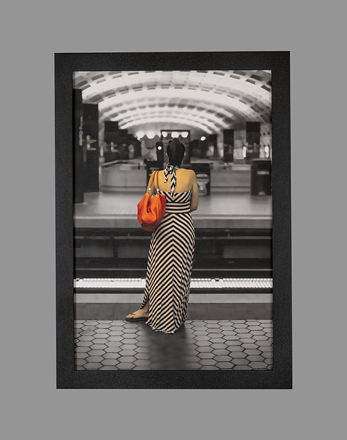 Girl at the Station 18x26