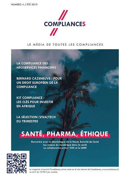 Compliances - mag #4 - été 2019