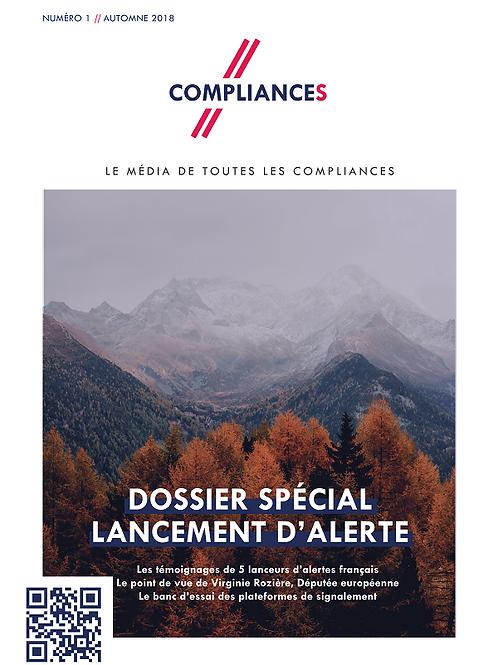 Compliances, le mag #1