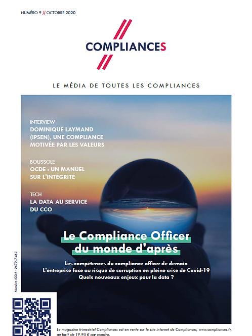 Compliances, le mag n°09 // octobre 2020