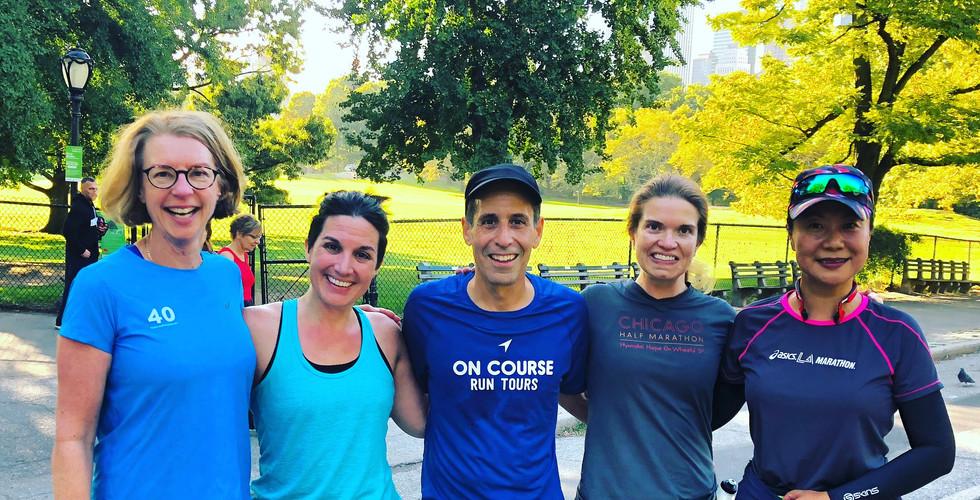 The Central Park Run Tour