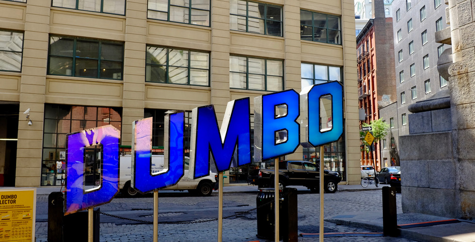 DUMBO in Brooklyn