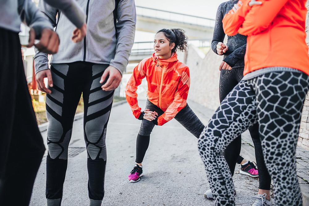 Group Running Workout