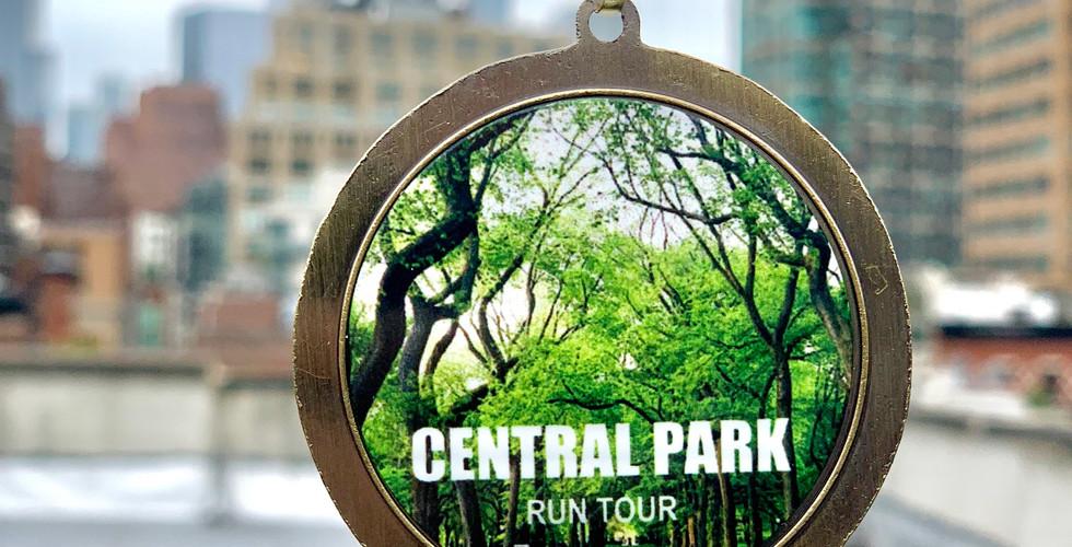 The Central Park Finisher Medal