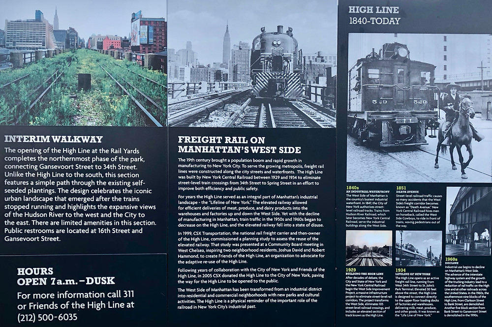 The High Line's history