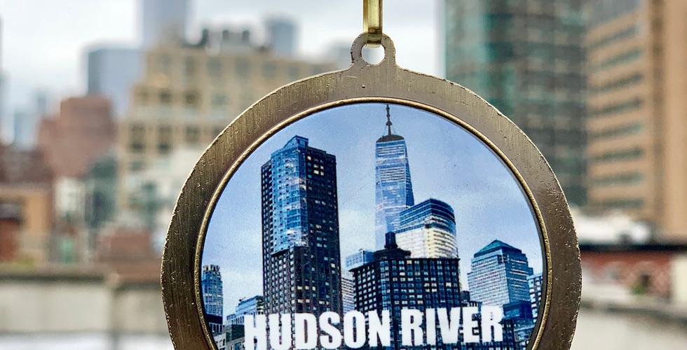 Hudson River Run Tour Finisher Medal