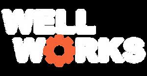 Well_Works_Logo_White _ Orange - transpa