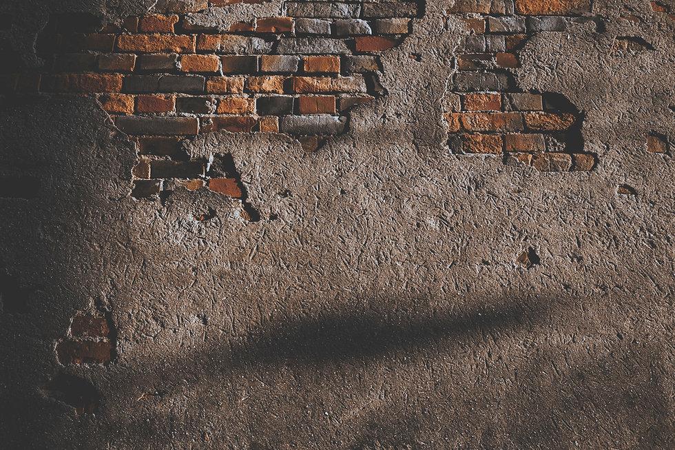 Rustic old brick wall