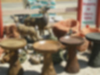 Bird Baths, Yard Decor