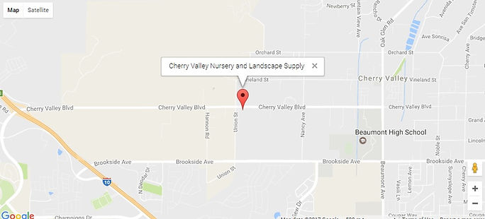 Google Map To Cherry Valley Nursery