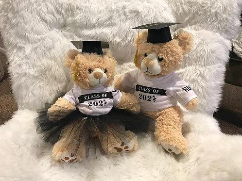 Graduation Boy & Girl - We add your school colors!