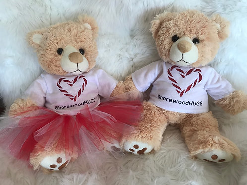 Candy Cane Bears (Boy & Girl)