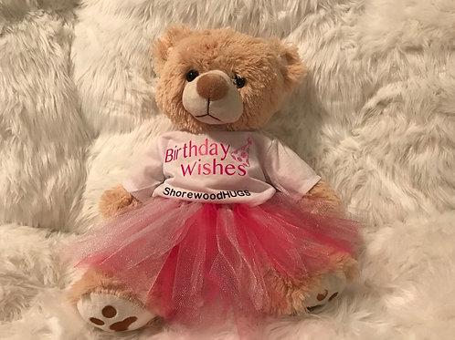 Birthday Bear (Girl)