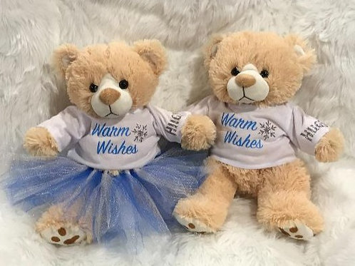 Warm Wishes Bear (Boy and Girl)
