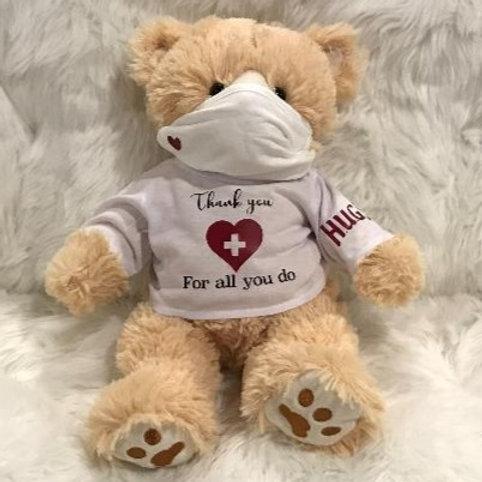 Healthcare Bear w/mask