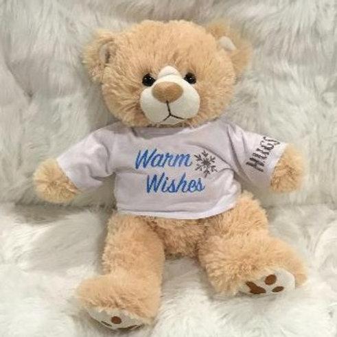 Warm Wishes Bear Boy