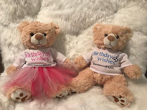 Birthday Bears (Boy & Girl)