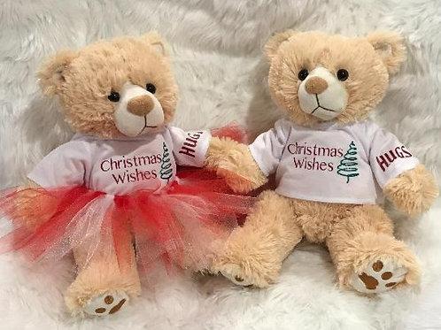 Christmas Bears (Boy and Girl)