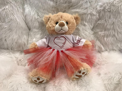 Be Kind - Valentine Bear Girl