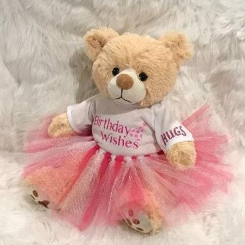 Birthday Bear Girl