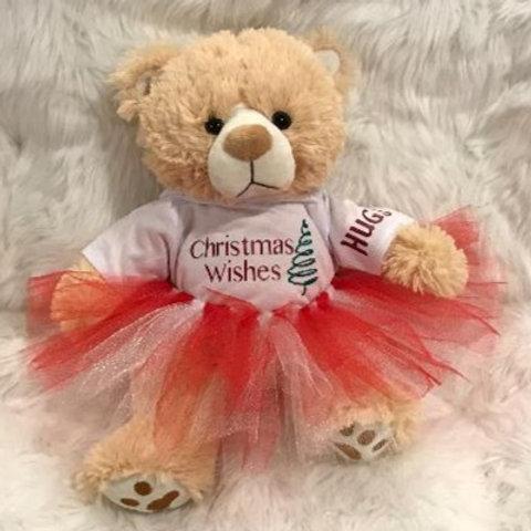 Christmas Bear Girl