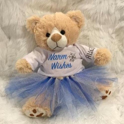 Warm Wishes Bear Girl