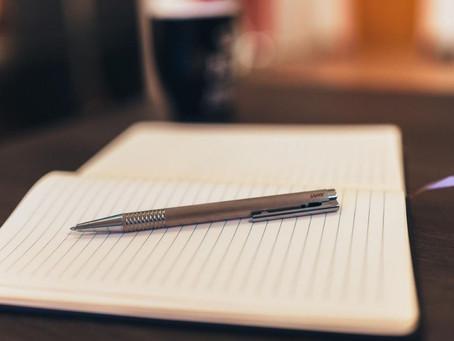 Anotar tus objetivos te aclara la Mente
