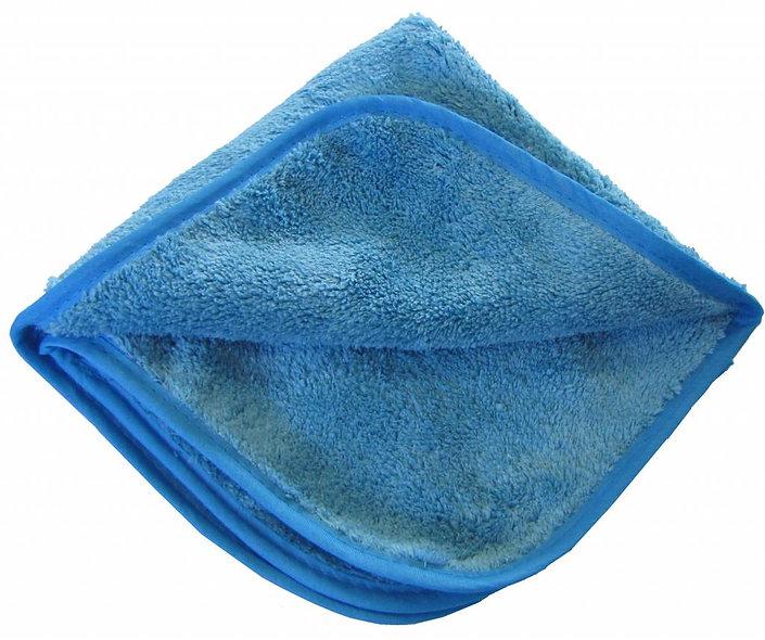 """Mikrofaserpoliertuch """"POLISH'' 40 X 40 cm Blau"""
