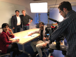 BTS: Industrial Shoot, client Mckinsey and Co.
