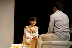 On Stage as Mrs. Sohail- National Queer Theatre