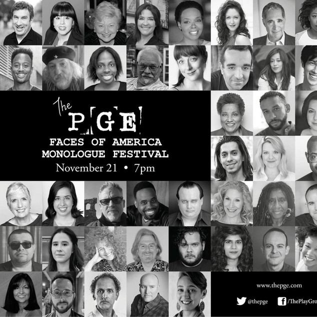 THE PGE FACES OF AMERICA MONOLOGUE FESTIVAL #2
