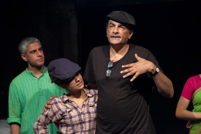 Mahima with Director Hafiz Karmali