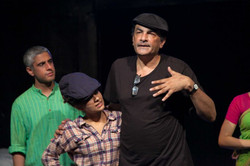 Mahima with Director Hafiz Karmali