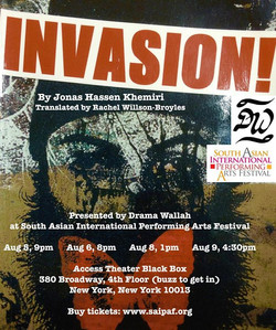 Poster for Invasion