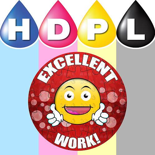 192 Excellent Work Stickers (C)
