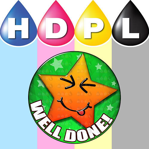 192 Well Done Reward Stickers (B)