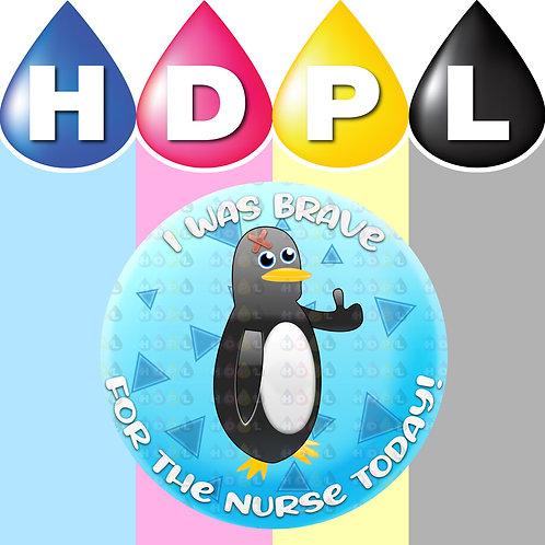 192 Brave For Nurse Stickers (C)