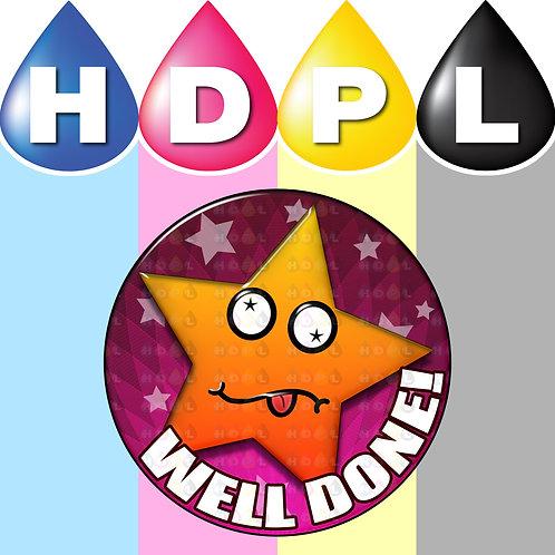 192 Well Done Reward Stickers (D)